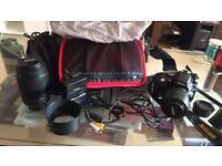 Nikon D5100 16.2 MP Digital SLR Camera Black Kit +2 lenses