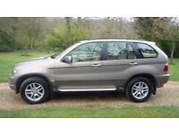 Price Reduced-BMW X5 3.0d SE, 1 owner from new, panoramic full length sunroof, light beige leather.