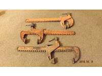 12'' Carver clamps