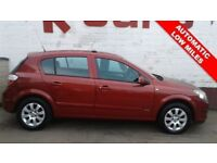 AUTOMATIC LOW MILEAGE 2006 VAUXHALL ASTRA 1.6 CLUB TWINPORT