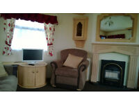 Charming 3 bedroom caravan for hire
