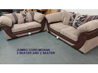 NEW Corner sofa, 3 seater, cuddle chair, armchair. JUNE CLEARANCE - 50% OFF Free Delivery in Reading