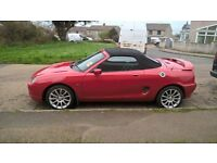 2001 MGF Trophy Excellent Condition 51,000 Red 12m MOT