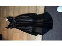 Black lace dress with tags size 8-10