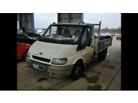 Breaking ford transit 2.4 tipper