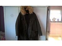 Next ladies parka coat size 20