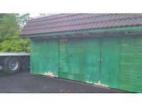 SHED SUITABLE FOR PONIES & LIVESTOCK