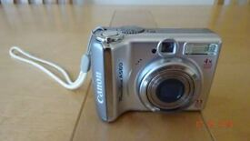 CANON A560 DIGITAL CAMERA