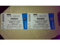 2x silver steps tickets for keepmoat 17/06/18