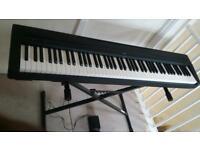 Yamaha P-80 portable Digital Stage Piano keyboard - 88 Weighted Keys