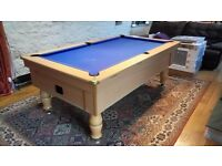 Pool/Snooker Table 7x4ft