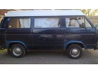 VW T25 pop-up top Campervan - Ready to drive away with 12 months MOT
