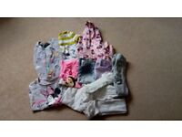 Bundle of girls clothes aged 4-6 years