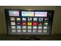 "Panasonic 42"" 3D smart tv"
