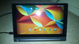 "LENOVO Yoga Tab 3 Android 10.1"" Quad Core 16GB Portable Tablet Computer YT3-X50F & Belkin Soft Case"