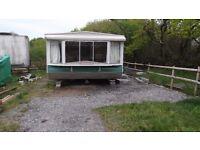 Caravan, 2 bed-on farm. Pontyates.