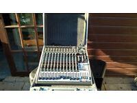 Behringer Xenyx X2442USB Mixer good condition with flightcase
