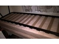 Two single beds from static caravan matress and base free to good home.