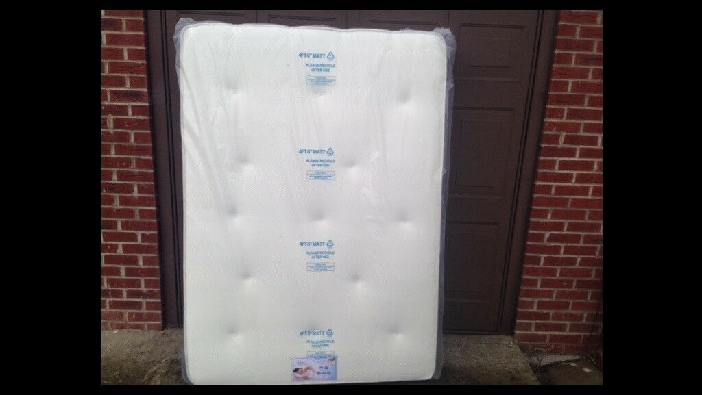 BRAND NEW memory foam spring mattress