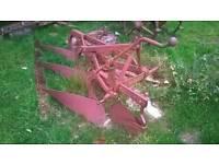 Massey Ferguson 3 furrow plough