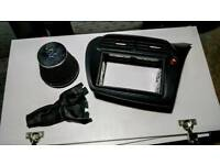 Honda Civic Double Din stereo adaptor