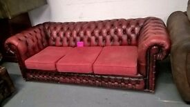 chesterfield 3 seaters and also have chairs