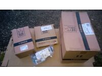 Brand new boxed Bathstore 'Mytime' toilet - close coupled WC with soft close seat