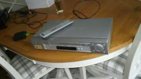 Video cassette recorder Sony SLV-SE730G c/w remote control & various videos