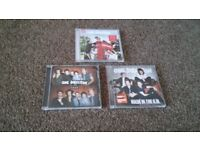 Collection of One Direction Cds
