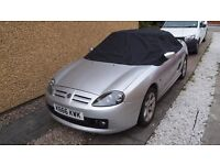 MGTF for spares or repair; good condition but cooling system needs attention (possibly head gasket)