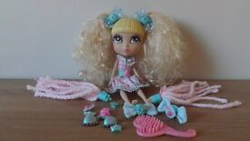 Doll with Changeable Hair and Accessories