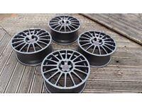"""18"""" OZ Superturismo Wheels BMW (e36 e46 e39 E60 E90 5x120 Rims Alloys BBS Racing)"""