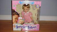 Amazing Babies interactive doll