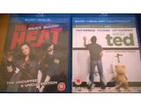 2 BLUE RAY FILMS THE HEAT AND TED