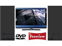 Technika 23inch LCD HD DVD combo free view record