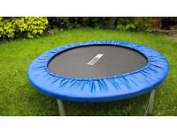 Pro Fitness Trampoline - 3 foot Trampette. Used once. Only £12