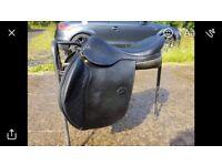 Henri de Rivel Saddle 17.5 inch