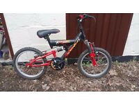 Raleigh crossfire children's bicycle