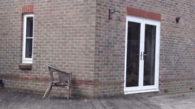 PVCu French Doors and Single Window