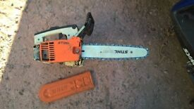 STIHL 020T chainsaw