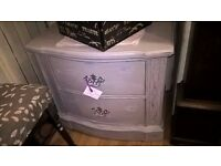 Shabby Chic Two Drawer Chest