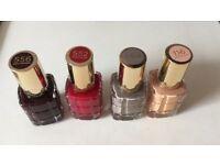 L'oreal nail varnish kit of 4