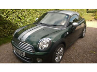 Mini Cooper Coupe 1600 semi Auto 9600miles FSH one owner from new