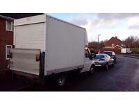 Ford transit Luton with tail lift 02 plate
