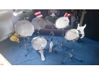 "Practise Drum Kit ""The Silent One"" by Dragon"