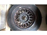 Mk 2 golf alloy wheels