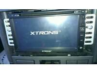 Is new xtrons 2 din dvd cd usb AUX sd bluetooh
