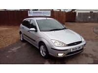 FULL SERVICE HISTORY FORD FOCUS 1.6 & NEW MOT, SERVICE AND WARRANTY ON SALE