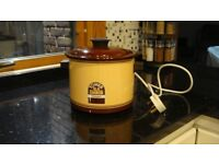 Slow Cooker Tower Compact Size for up to 2 people Casserole Cook Pot