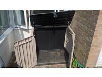 Lockable Garden Storage Unit - Free